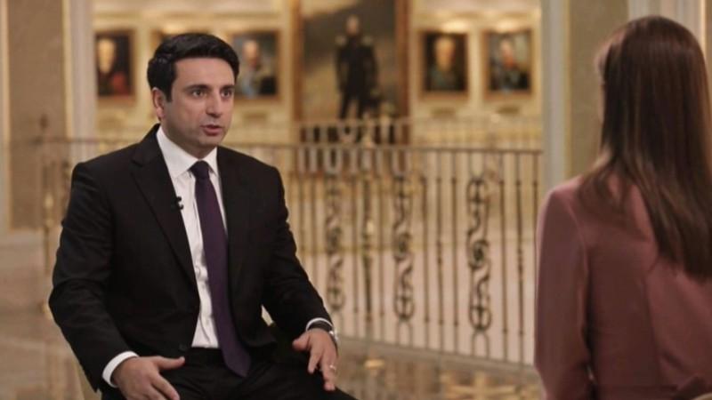 Հայաստանի և Ռուսաստանի միջև կա ընդհանուր փոխըմբռնում. Ալեն Սիմոնյանի հարցազրույցը «Вместе»-ին (տեսանյութ)