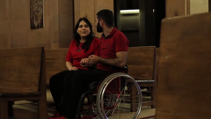 Եթե միասին են, ուրեմն՝ բոլոր դժվարությունները հաղթահարելի են . «Զինվորի տուն»-ը պատմել է Վարդանի և Անահիտի սիրո պատմությունը (տեսանյութ)