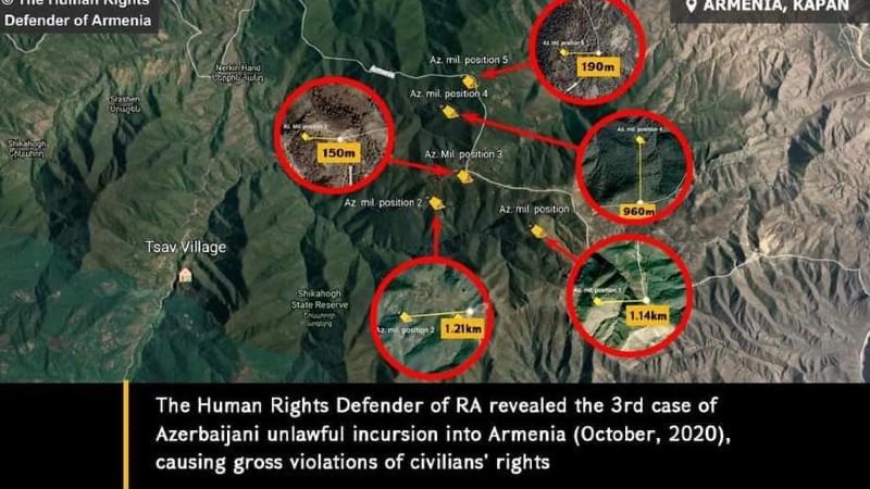 ՀՀ սահմանային բնակիչների իրավունքների վերականգնումը պահանջում է ադրբեջանական զինված ծառայողների անհապաղ հեռացում. ՄԻՊ