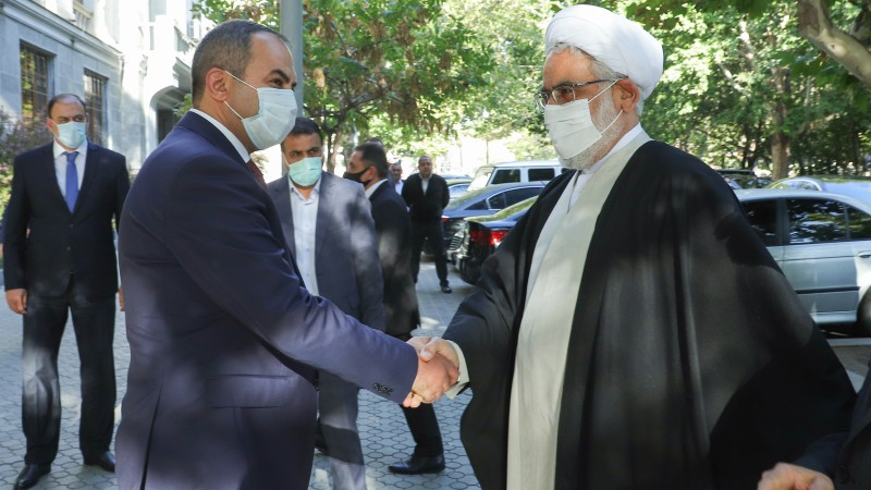 Սկսվել է Իրանի Իսլամական Հանրապետության գլխավոր դատախազի այցը Հայաստան
