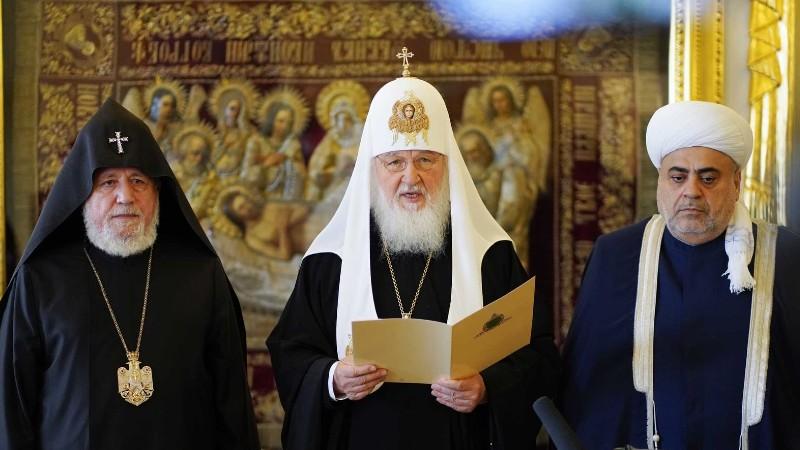 Մոսկվայում կայացել է  տարածաշրջանի հոգևոր առաջնորդների եռակողմ հանդիպումը
