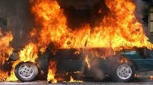 Գանձակ գյուղում այրվել է ավտոմեքենա