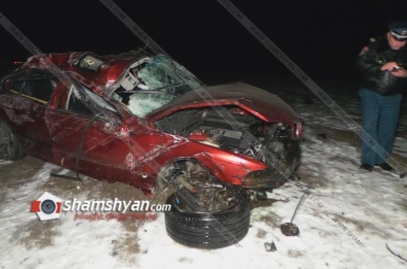 Կոտայքի մարզում 28-ամյա երիտասարդը, BMW-ով մոտ 250 մետր գլորվելով, հայտնվել է դաշտում․ նրա դին ավտոմեքենայից դուրս հայտնաբերել են փրկարարները