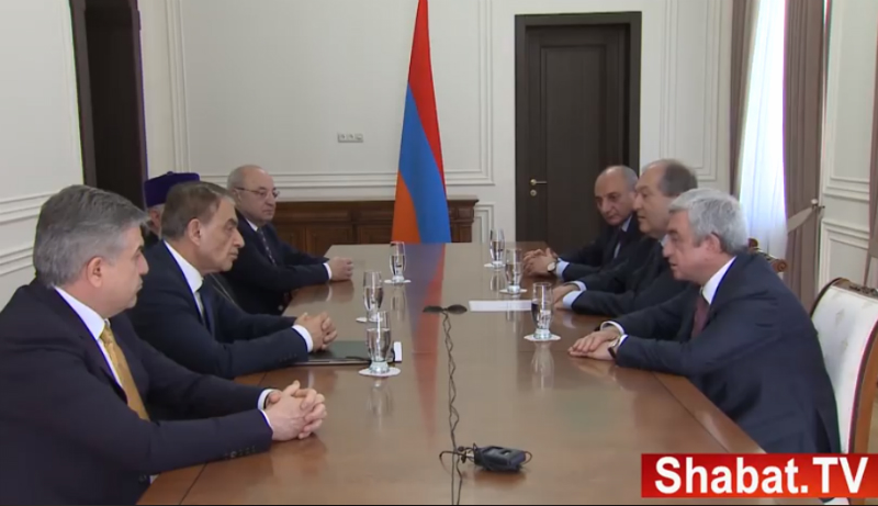Սերժ Սարգսյանի խոսքը նախագահականում (տեսանյութ)