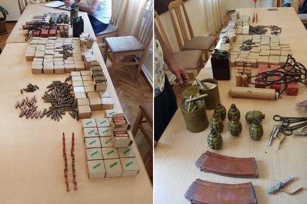 Քաղաքացիները Ռազմական ոստիկանությանը մեծ քանակությամբ զինամթերք են հանձնել