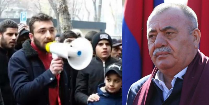 Մանվել Գրիգորյանի ազատ արձակման որոշման դեմ բողոքի ակցիան Էջմիածնում վերսկսվել է