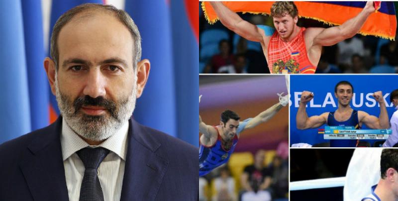Նիկոլ Փաշինյանը շնորհավորում է Հայաստանի հավաքականին Եվրոպական խաղերում ունեցած հաջող մրցելույթների առիթով