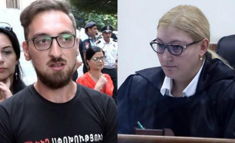 Դատավոր Աննա Դանիբեկյանին հետապնդած երկու երիտասարդների գործը ուղարկվել է դատարան