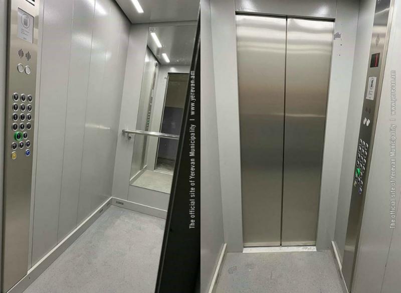 Երևանի 10 վարչական շրջաններում փոխարինված 20 նոր վերելակներն արդեն գործարկվում են (լուսանկարներ)