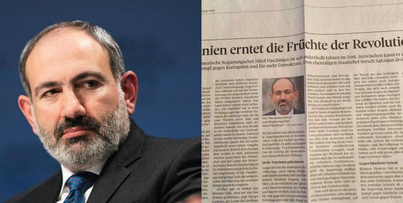 Շվեյցարական Berner Zeitung-ը կարծում է, որ Հայաստանի 2019 թ. տնտեսական աճը կլինի 8 տոկոս. Նիկոլ Փաշինյան