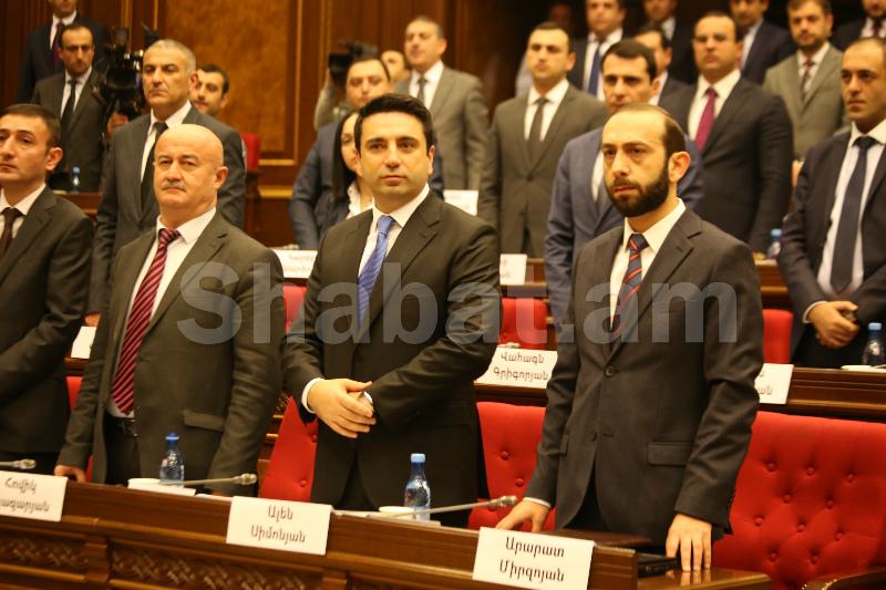 Ալեն Սիմոնյանն առաջադրվեց ԱԺ փոխնախագահի թեկնածու