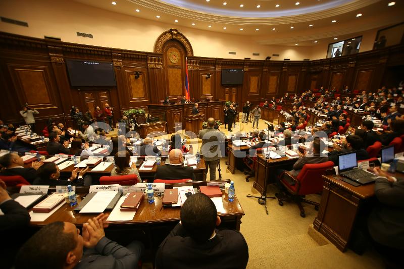 Ուղիղ. շարունակվում է 7-րդ գումարման Ազգային ժողովի առաջին նիստը