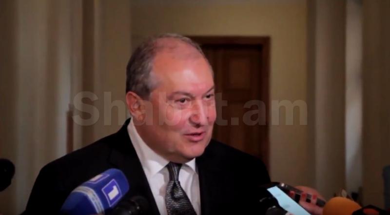 Արմեն Սարգսյանը մեկնել է Արցախ