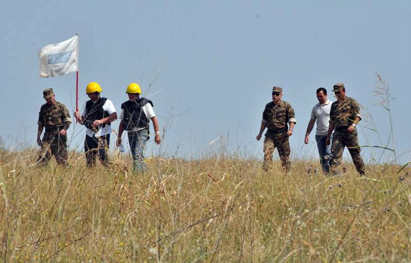 ԵԱՀԿ-ն Մարտունու շրջանի Կուրոպատկինո բնակավայրից դեպի հյուսիս դիտարկում է անցկացրել