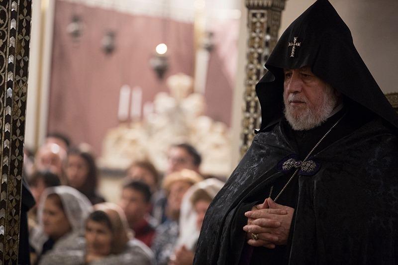 Ամենայն Հայոց կաթողիկոսն իր խորը մտահոգությունն է հայտնել Սիրիայում ծավալվող ռազմական գործողությունների առիթով