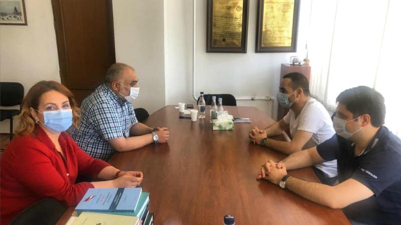 Մխիթար Հայրապետյանը Արևելագիտության ինստիտուտում քննարկել է Հայաստան- Իրան հարաբերությունները
