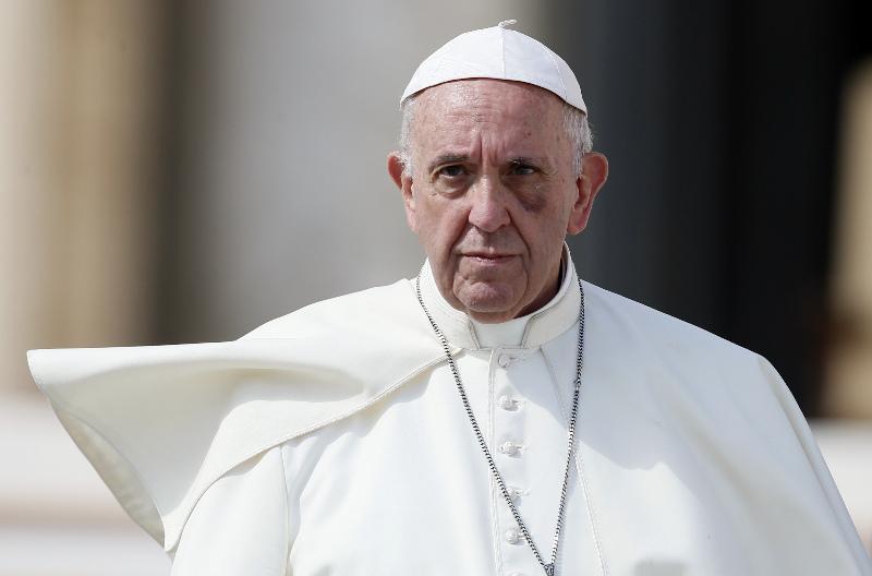 Հռոմի Պապ. Մարդկությունը ստով ու պատերազմով վատնեց 2017թվականը
