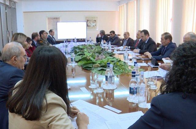Միջգերատեսչական հանձնաժողովը ՀՀ ՊՆ-ում քննարկել է բժշկական հաստատությունների վերակազմակերպումը