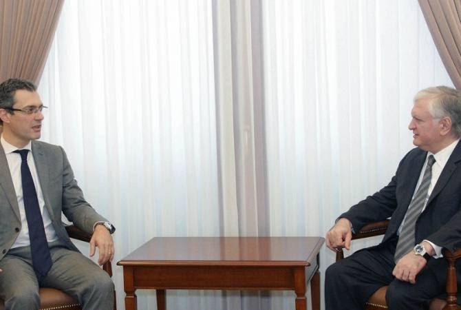 Նալբանդյանն ընդունել է «Հայաստանի եվրոպացի բարեկամներ» կազմակերպության նախագահին