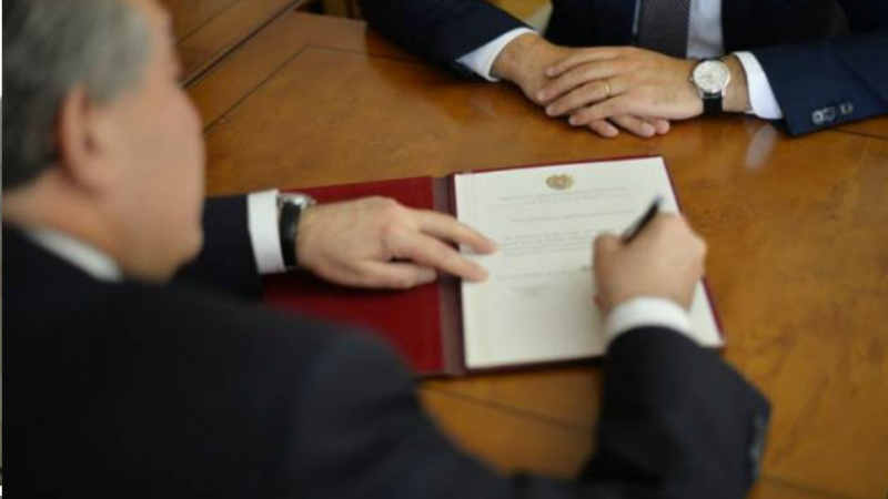 Նախագահի հրամանագրով՝ զինծառայողներ են պարգևատրվել