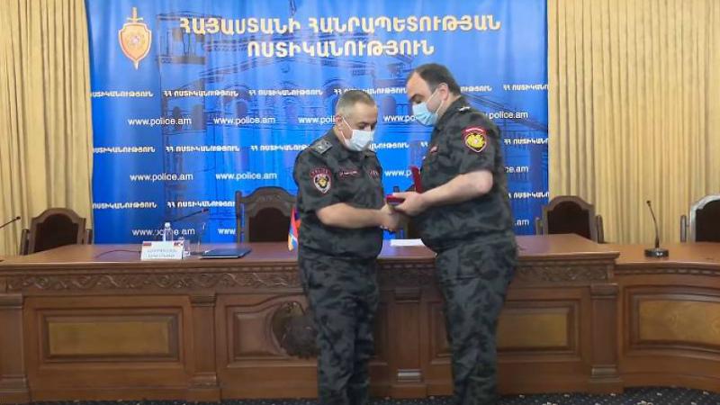 ՀՀ ոստիկանության պետն ընդունել է ԱՀ ոստիկանության պետին