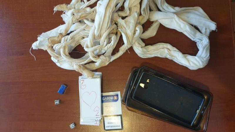 «Վանաձոր» ՔԿՀ-ում հայտնաբերվել ու առգրավվել են արգելված իրեր