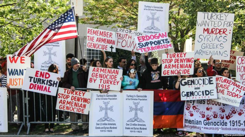 Վաշինգտոնում Էրդողանի դաշնակիցները կփորձեն խանգարել Հայոց Ցեղասպանության տարելիցի օրվա ակցիային