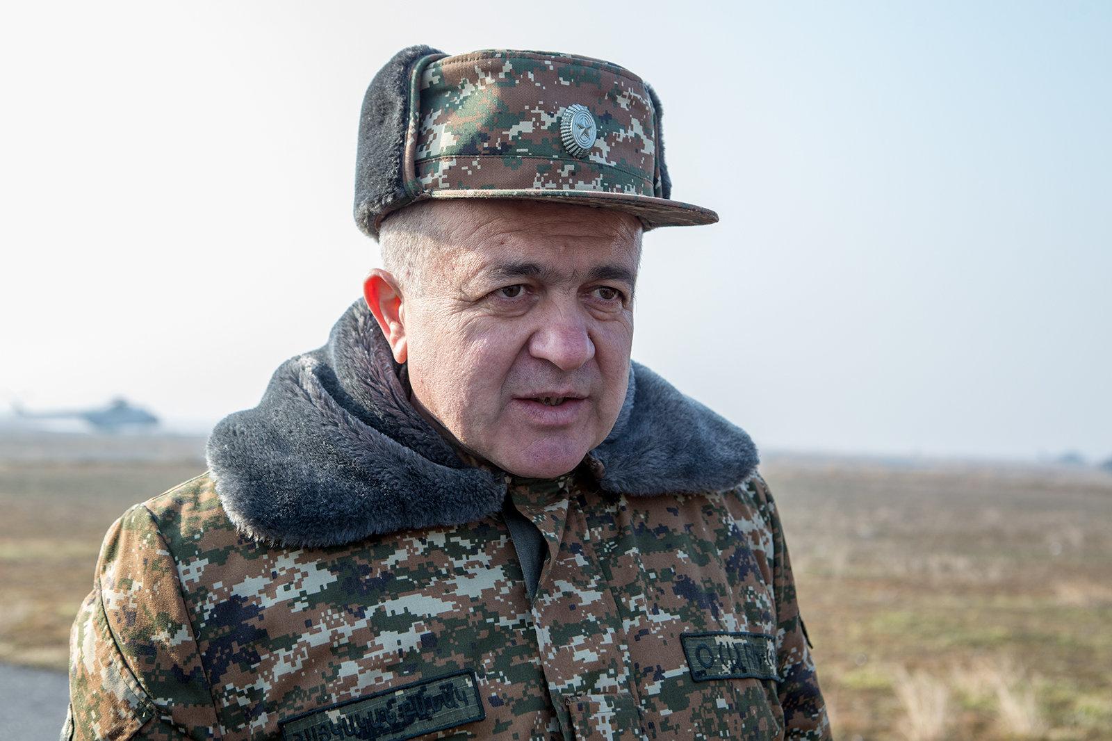 Վաչագան Ներսիսյանը նշանակվել է գլխավոր ռազմական տեսչի տեղակալ