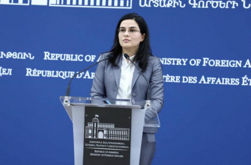 Ուսումնասիրում ենք Հայաստանի վրա Իրանի դեմ կիրառված պատժամիջոցների հետևանքները. ԱԳՆ խոսնակ