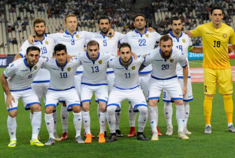 Հայաստանի ֆուտբոլի ազգային հավաքականը ՖԻՖԱ-ի աղյուսակում առաջադիմել է 9 աստիճանով