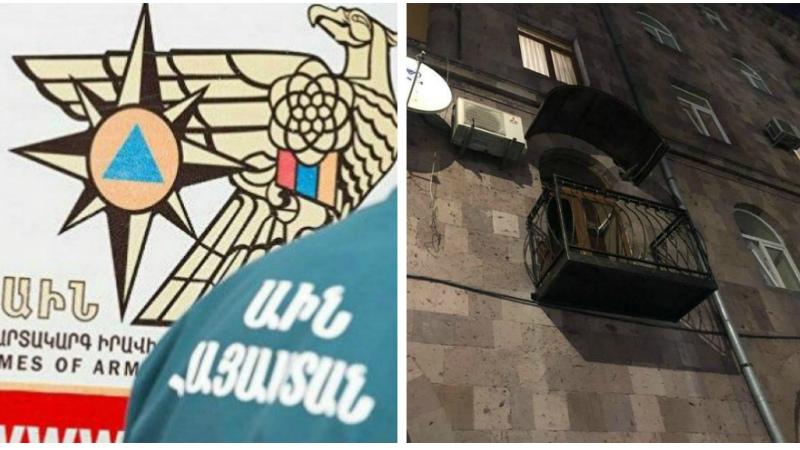 Պատշգամբի ապամոնտաժման աշխատանքների ժամանակ քաղաքացին սպառնացել է  երեխային ցած նետել պատշգամբից