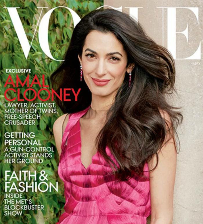Ամալ Քլունին զարդարել է Vogue-ի շապիկն ու էջերը  (ֆոտոշարք)