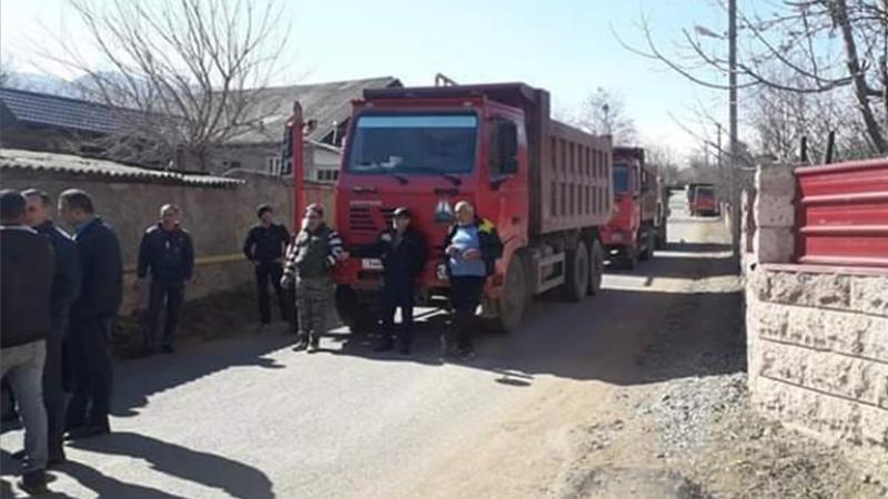 Արտակարգ իրավիճակ՝ Մեծ Այրումում. բնակիչները փակել են պոչամբար տանող ճանապարհը
