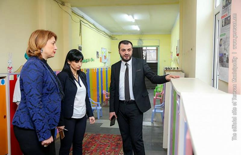 Շուրջ 5 138 քմ տարածք վերադարձվել է մանկապարտեզներին՝ նոր խմբոր բացելու նպատակով. Տիգրան Վիրաբյան