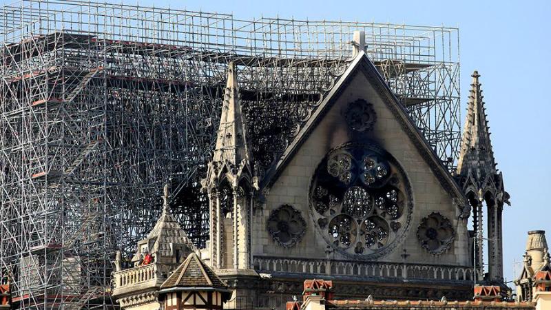 Փարիզի Աստվածամոր տաճարում խոշոր հրդեհից հետո առաջին պատարագը կմատուցվի