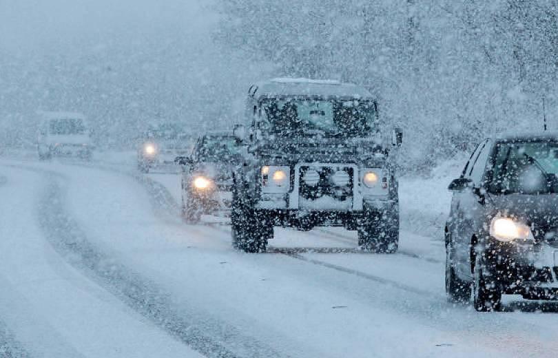 Մեղրիի տարածաշրջանի ավտոճանապարհներին ձյուն է տեղում