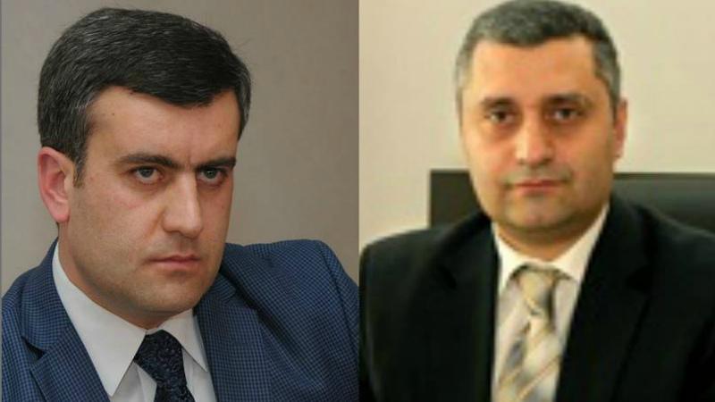 ԲԴԽ նախագահի որոշմամբ կասեցվել են դատավորներ Գևորգ Նարինյանի և Արա Կուբանյանի լիազորությունները