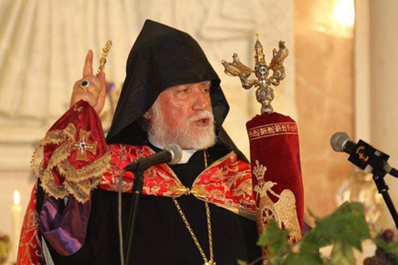 Արամ Առաջին Կաթողիկոսը Անկախության տոնի առիթով շնորհավորել է հայ ժողովրդին
