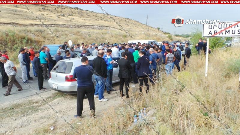 Արամուս գյուղի բնակիչները փակել են Մայակովսկի-Արամուս ավտոճանապարհը