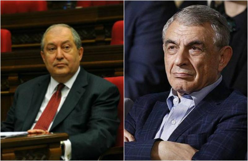 Արմեն Սարգսյանն ու Արա Բաբլոյանը երկրորդ պլան են մղվում․ «Ժողովուրդ»