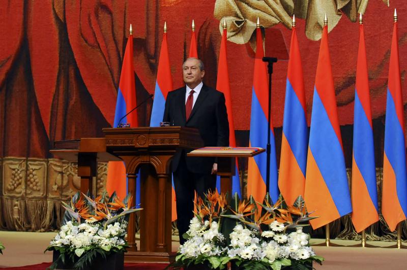 Միասնաբար պետք է պայքարենք բոլոր արատավոր երևույթների դեմ. ՀՀ նախագահ Արմեն Սարգսյանի ելույթը երդմնակալության արարողության ժամանակ
