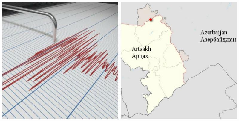 Երկրաշարժ Արցախում և Ադրբեջանում