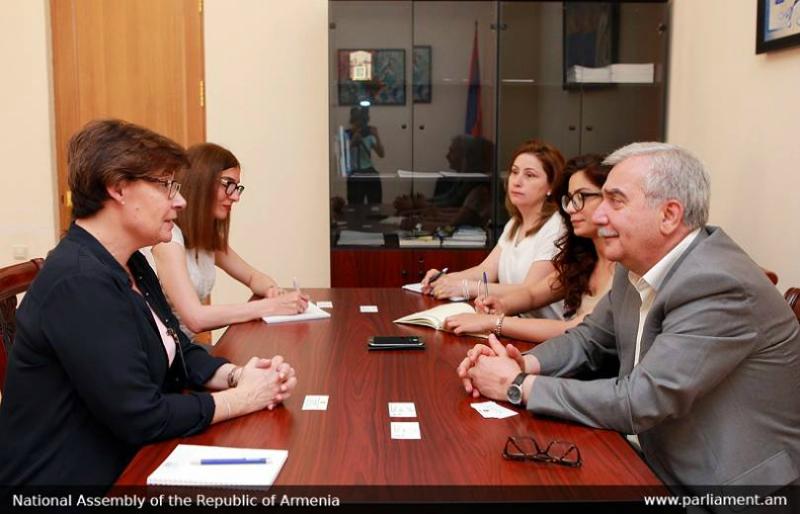 Անդրանիկ Քոչարյանը հանդիպել է Հայաստանում Կարմիր խաչի միջազգային կոմիտեի պատվիրակության հետ