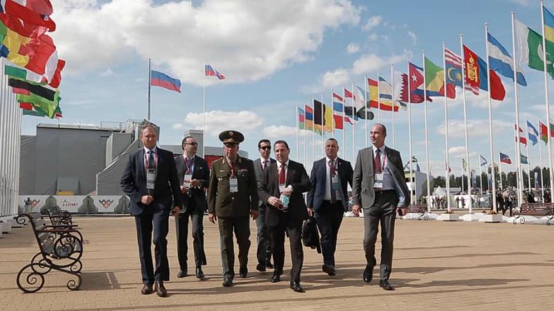 ՌԴ-ում կայացել է միջազգային բանակային վեցերորդ խաղերի և Բանակ-2020 ցուցահանդեսի բացման հանդիսավոր արարողությունը