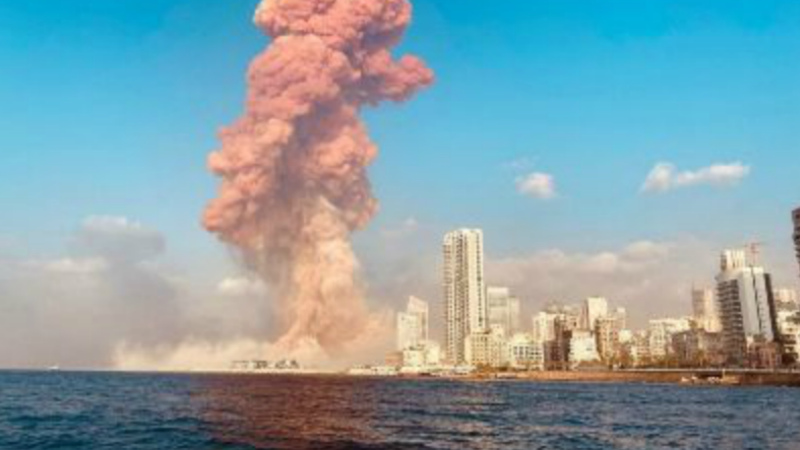 Բեյրութի նավահանգստում տեղի ունեցած պայթյունի հետևանքով 43 մետր խորությամբ փոս է առաջացել