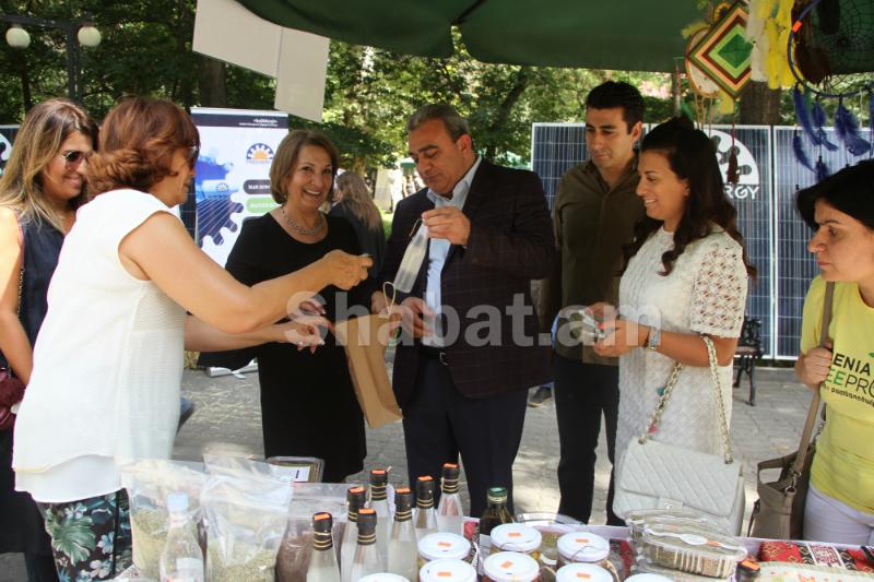 Երևանում անցկացվեց Բերքի փառատոնը (լուսանկարներ)