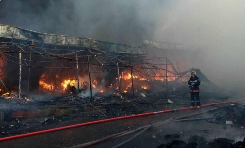 Բաքվի խոշորագույն առևտրի կենտրոններից մեկում հրդեհ է բռնկվել
