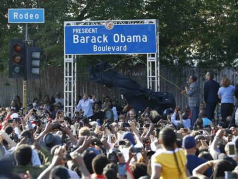 Լոս Անջելեսում հիմնվել է Բարաք Օբամայի Բուլվարը