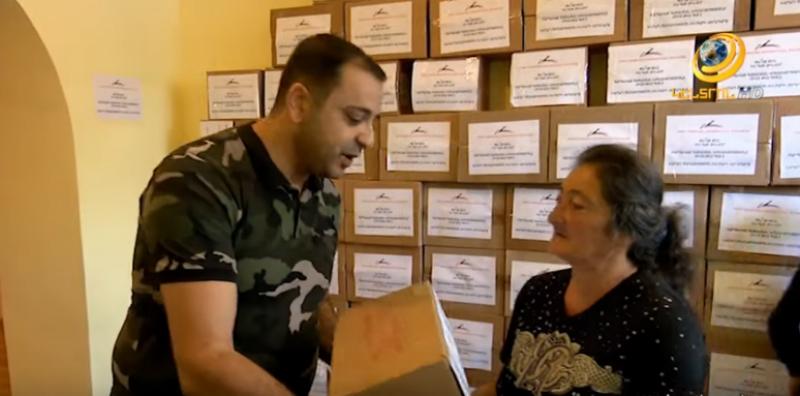 Գ.Ծառուկյանի շնորհիվ Վարդենիսի և հարակից 35 գյուղերի զինծառայողների ծնողները մեկնել են Արցախ