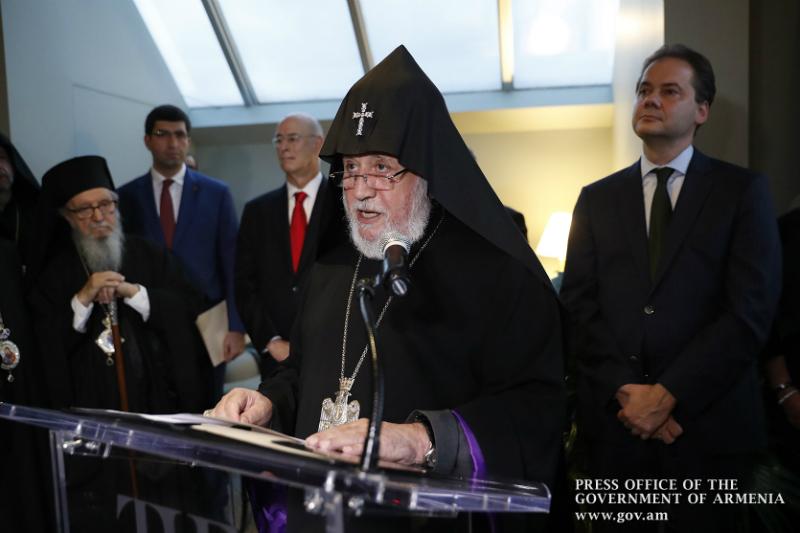 Կաթողիկոսը ելույթ է ունեցել  Նյու Յորքի «Մետրոպոլիտեն» թանգարանում